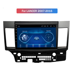 lancer gps radios Australia - 9 Inch Android 10 Car Gps Navigation For Mitsubishi LANCER 2007-2015 built-in Radio Video Bt Wifi
