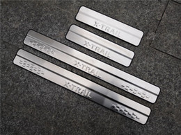 $enCountryForm.capitalKeyWord Australia - Stainless Steel Door Sill Scuff Plate for 2014-2019 Nissan X-Trail X Trail XTrail T32 Welcome Pedal Trim Car Styling Accessories