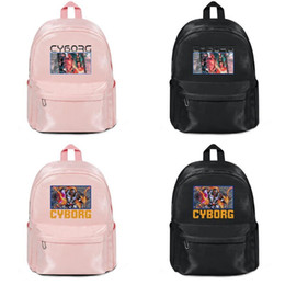 $enCountryForm.capitalKeyWord Australia - COOL Cyborg POSTER illustration New 2019 Sports Backpack for man women youth Canvas backpack Superior quality Travel Daypack pink Bags