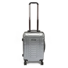 Pull Handle Lock Australia - Plover Travel Luggage Rolling Suitcase Trolley Suitcase with Password Lock & Adjustable Pull Handle & Quiet Wheels