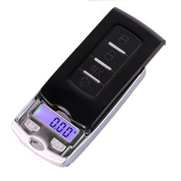 digital pocket scales small Australia - Smallest Mini Digital Pocket Scales Balance 100g 0.01g 200g 0.01g Electronic Weight Jewelry Scale for Gold Sterling Gram scale car key