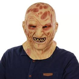 $enCountryForm.capitalKeyWord Australia - Freddy Krueger Mask Realistic Adult Scary Halloween Costume Fancy Dress overhead Party Cosplay Props