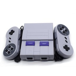 super hot games NZ - Mini Game Console Newest Hot Sell Super SFC TV Video Handheld for 400 SNES Games consoles with retail box DHL Fast Shipping