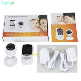 Infant Baby Videos NZ - SP880 Wireless Infant Baby Sleep Monitor With IP Camera Radio Babysitter Digital Video Night Vision Temperature Display Radio