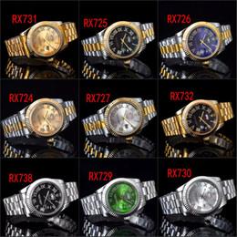 Auto Calendar Quartz Clock Australia - Famous design Fashion Men Watch Stainless steel Double Calendar Diamond watches High Quality Male Quartz watches Man Wristwatch clock