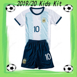 $enCountryForm.capitalKeyWord Australia - 2019 20 #10 MESSI Argentina Kids kit 2019 Copa America KUN AGUERO DYBALA Soccer Shirt Boys DI MARIA LAUTARO Child Football Uniform