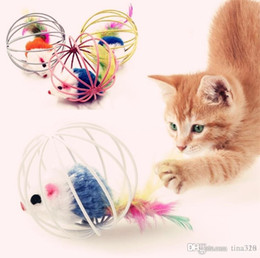 $enCountryForm.capitalKeyWord NZ - New Fat cat toys Lovely Mouse for Cat Dogs Funny Fun playing contain catnip toys Pet supplies Mixed color 100pcs lot Mouse toys I205