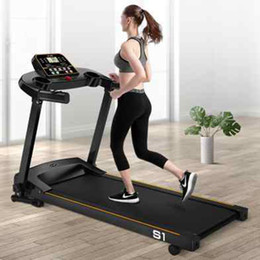 Aptidão da escada rolante comercial Gym Equipment Início dobrável esteira 136 * 117 * 60 cm Intelligent transporte Household Esteiras ZZA2250 Mar em Promoção