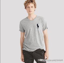 Sport T Shirts Designs New Australia - Men's v-neck short sleeved top summer new men's sport casual quick dry half-sleeve T-shirt Simple design fashion LOGO