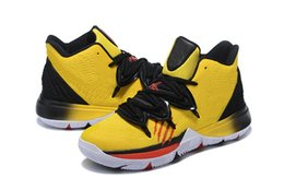 4584c36104d Boys Kyrie V Bruce Lee shoes for sales free shipping Irving 5 kids  Basketball shoe With Box Wholesale prices