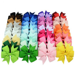 $enCountryForm.capitalKeyWord Australia - Hot Sell Candy Color Silk Ribbon Edge Clip Side Hairpin Girls With The Tail Bowknot Hair Fringe Styling Barrette Hair Accessories Gifts