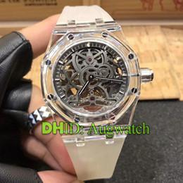 $enCountryForm.capitalKeyWord Australia - Mens Watches Designer Rubber Strap Autoamtic Watch Sapphire Crystal Hollow Dial Mechanical Wristwatches luxury watch montre de luxe