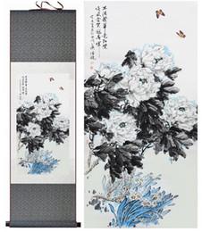 $enCountryForm.capitalKeyWord Australia - Peony Traditional Chinese Art Painting Chinese Ink Painting Flower Picture Peony Paintingprinted Painting