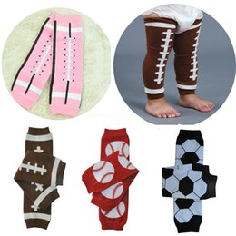 Infant tIghts sock online shopping - 2019 Baby Football Basketball Baseball Soccer Leg Warmers infant Girl Boy Children Socks Legging Tights Leg Warmers Stockings Colors M795F