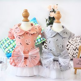 $enCountryForm.capitalKeyWord Australia - Luxury Pet Dog Clothes for Small Dogs Dress Pet Clothes Kitten Summer Wedding Skirts Butterfly For Yorkie Bomei Teddy Poodle Princess