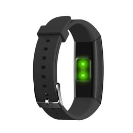 kids bracelets watch UK - W8 OTA Automatic Heart Rate Monitor Smart Bracelet Pedometer Tracker Fitness Sports Smart Watch Color Screen Wristwatch For iPhone Android