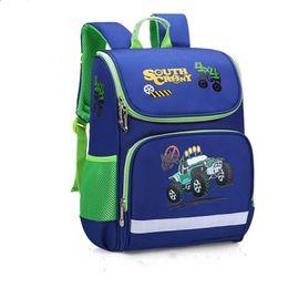 Children School Bags Girls boys Backpack Kids car Printing Backpacks  Schoolbag kids Waterproof Primary School Backpacks Mochilas 3378029fae36d