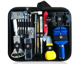 Cm Tools NZ - DIY Multiple combinations Watch repair Household Repair tool 147 piece set Watch Disassembly service Change battery combination