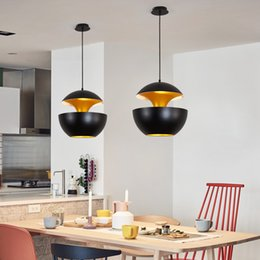 $enCountryForm.capitalKeyWord Australia - Nordic Designer Black   White Aluminium Apple Shape Led Pendant Lights Bar Hanging Lamp Luminarias Suspend Lamparas Fixtures