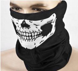 $enCountryForm.capitalKeyWord Australia - Cool Multi Function Skull Face Mask Outdoor Sports Ski Bike Motorcycle Scarves Bandana CS Neck Snood halloween Party Cosplay Full Face Masks