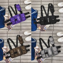 Gear vest online shopping - Fashion Chest Bag Tactical Gear Adjustable Functional Shoulder Bag High Quality Men Chest Pack Waist Packs EDC Vest Pouch Best Gifts M287Y