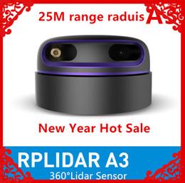 $enCountryForm.capitalKeyWord NZ - Slamtec RPLIDAR A3 2D 360 degree 25meters scanning radius lidar sensor for bstacle avoidance and navigation of AGV UAV