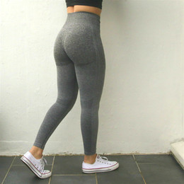 6f3b65e717d Sports Women Ombre Seamless High Waisted Yoga Pants Woman Sport Training Tights  Gym Fitness Leggings C19041701