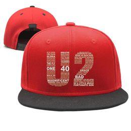 $enCountryForm.capitalKeyWord Australia - Irish Rock Band Music U2 Art Design Snapback Flatbrim Baseball Cap Hip-Hop Dad Hats Adjustable Stylish