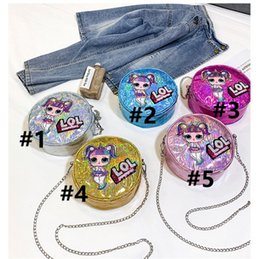 $enCountryForm.capitalKeyWord Australia - Surprise Girls Laser Chain Single Shoulder Bags Women Party Outdoor Travel Storage Mobile Phone bag Cartoon Purse Makeup Crossboy Bag B71002