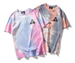 Striped tShirtS online shopping - 19ss boutique palaces brand Tshirt high quality camouflage Tshirts man women printing designer T shirt loose street hip hop T shirts