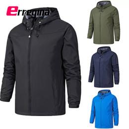 $enCountryForm.capitalKeyWord Australia - ERREGINA Men Fashion Waterproof Jacket Black Green Blue Dark Blue Khaki Red Trench Coat Jackets Windproof Coat for Running