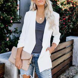$enCountryForm.capitalKeyWord UK - Fall Fashion Plus Size Women Ladies Suit Coat Business Blazer Long Sleeve Outwears Office Lady's Long Blazers S-5XL