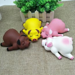 Toys & Hobbies Cartoon Moon Sheep Stress Reliever Soft Yogurt Scented Slow Rising Toys 3.25 Squeeze Toys