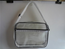 Sac d'ordinateur portable durable en PVC anti-statique salle blanche Clear Tool Bag Full Cover 17 pouces PVC Sacs Transparent en Solde