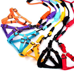 Clip Nylon Dog Collar Australia - Dog Collars Leads Vehicle Car Dog Seat Belt Pet Dogs Car Seatbelt Harness Lead Clip Safety Lever Auto Traction Rope Pet Products