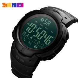 sports digital cameras 2019 - SKMEI Smart Watch Waterproof Calorie Pedometer Men Sport Wristwatches Sleep Monitor Camera Digital Bracelet Clock discou