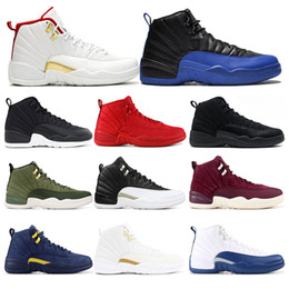 table tennis shoes for size 2020 - 2019 New arrivel basketball shoes for mens 12s FIBA Game Royal GYM RED FLU GAME NYLON mens trainers sports sneaker size