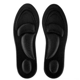 comfort foot shoes UK - Orthotic Insoles Flat Feet Arch Support Memory Foam Insole Shoe Pad Beach equipment Water Sports Comfort Black for Men