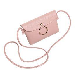 Blue Leather Bags Sale NZ - Hot Sale Lady Girl Casual Satchel Purse Fashion Women Pu Leather Travel Shoulder Bag Crossbody Messenger Bags Popular Fa$3