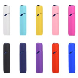 $enCountryForm.capitalKeyWord Australia - Portable multi-color shockproof soft silicone Electronic Cigarette protective Cover Case for IQOS 3.0 multi E-Cigarette