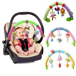 Baby Car Seat Toys Australia - Educational Rattles & Mobiles Lovely Stroller Lathe Car Seat Cot Hanging Play Travel Newborn Infant Baby Toys Q190604