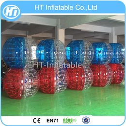 $enCountryForm.capitalKeyWord Australia - Free Shipping 10PCS (5 Red+ 5 Blue +1 Pump)Hot Sale Adult Giant Inflatable Human Body Sized Hamster Bubble Soccer Ball for Sale