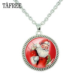 $enCountryForm.capitalKeyWord NZ - TAFREE Winter Christmas Pendant Necklace Santa Claus picture Child new year gift Clothing accessories Jewelry J224