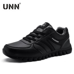 $enCountryForm.capitalKeyWord Australia - Adult Men Boots Winter Sneakers 2019 Warm Plush Snow Shoes Men Work Fashion Casual Shoes Waterproof Top Rubber Ankle Trainers