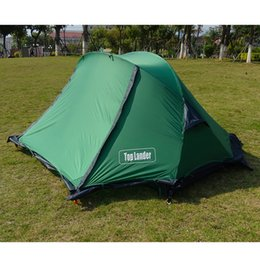 $enCountryForm.capitalKeyWord Australia - X Dome Tents Outdoor Camping 1 2 Person Ultralight Tent 20D Silicone Hiking Double Layers 4 Season Waterproof Backpacking Tents