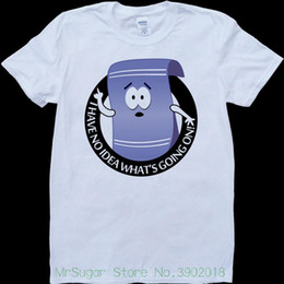 $enCountryForm.capitalKeyWord Australia - South Park Towelie High No Idea What's Going On White , Custom Made T-shirt Custom Made Good Quality T Shirt