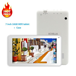 cheap white android tablet NZ - 7 inch usb wifi android 7.0 tablet pc Quad Core 16GB 32GB TF Card IPS cheap kids Tablet Android case keyboard 8 9 10 bluetooth