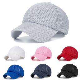 9ff7aa33a SuperB&G 2019 New Unisex Solid Color Mesh Breathable Adjustable Cap Fashion Baseball  Cap Summer Sports Baseball Snapback Hat