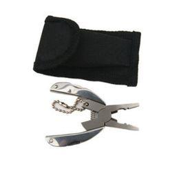 Опт Карманный Мультифункций EDC инструменты брелок мини складной нож Плоскогубцы Отвертка EDC Портативный 50шт карманный инструмент CCA11070