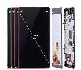 $enCountryForm.capitalKeyWord Australia - LCD for SONY Xperia Z1 Compact Display Touch Screen with Frame For SONY Xperia Z1 Compact LCD Display Mini D5503 M51W
